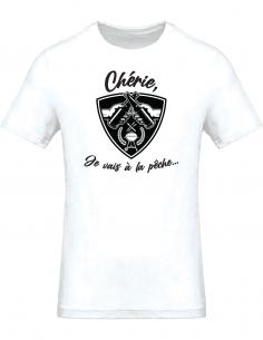 T-shirt homme - Chérie, je...